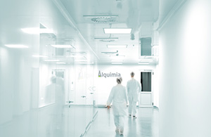 pasillo laboratorio